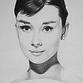 Audrey Hepburn by Steve Hunter