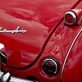 Austin-healey Tail Light And Emblem by Jill Reger