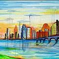 Austin Texas by Jose J Montee Montejano