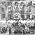 Australia: Melbourne, 1863 by Granger