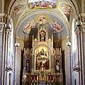 Austrian Church Interior by John Bowers