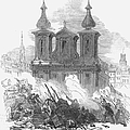 Austrian Revolution, 1848. Conflict At The University Of Vienna, Austria, During The Revolution Of 1848. Wood Engraving From A Contemporary English Newspaper by Granger