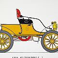 Auto: Oldsmobile, 1904 by Granger