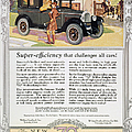 Automobile Ad, 1926 by Granger