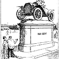 Automobile Cartoon, 1914 by Granger