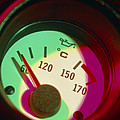 Automobile Oil Temperature Gauge; Low Temperature by Tek Image