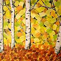 Autumn Aspens by Cami Lee