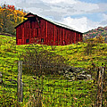 Autumn Barn Painted by Steve Harrington