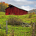 Autumn Barn by Steve Harrington