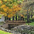 Autumn Bridge by Frozen in Time Fine Art Photography