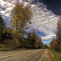 Autumn Highway by John Herzog
