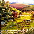 Autumn In The Valley by Renate Nadi Wesley