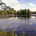 Autumn Lake by David Rucker