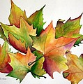 Autumn Leaves by Lyn DeLano