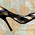 Autumn Leaves Stilettos by Elaine Plesser