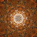 Autumn Mandala 3 by Rhonda Barrett