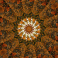 Autumn Mandala 4 by Rhonda Barrett