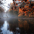 Autumn Morning By Wissahickon Creek by Bill Cannon