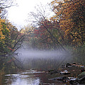 Autumn Morning On The Wissahickon by Bill Cannon