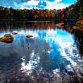Autumn On Cary Lake by David Patterson