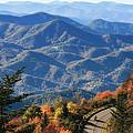 Autumn On The Blue Ridge Parkway by Lynne Jenkins