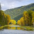 Autumn On The River by Idaho Scenic Images Linda Lantzy