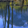 Autumn Pond by John Farley