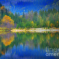 Autumn Reflected 2 by Tara Turner
