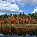 Autumn Reflection by David Rucker