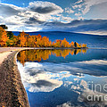 Autumn Reflections In October by Tara Turner