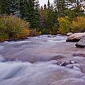 Autumn River by Brian Kerls
