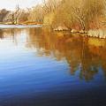 Autumn River by Olena Lopatina