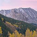 Autumn Rocky Mountains by Dean Pennala