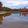 Autumn Shoreline by David Rucker