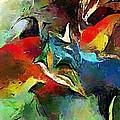 Autumn Streamside 030212 by David Lane