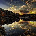 Autumn Sunset 2 by Thomas Young