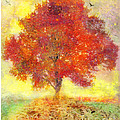 Autumn Tree by Gina Signore
