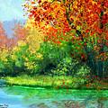 Autumn Trees by Eileen Blair