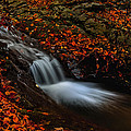 Autumn Waterfall by Irinel Cirlanaru