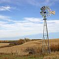 Autumn Windmill by Andrea Kelley