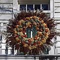 Autumn Wreath by Sally Weigand