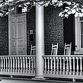 Avenel Porch - Bedford - Virginia by Steve Hurt