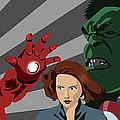 Avengers Assemble by Lisa Leeman