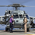 Aviation Boatswain's Mates Run by Stocktrek Images