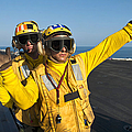 Aviation Boatswain Mates Direct An by Stocktrek Images