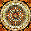 Aztec Calendar by Sampad Art