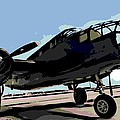 B-25 Bomber by George Pedro