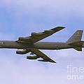 B-52 In Flight by Tim Mulina