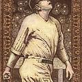 Babe Ruth The Bambino  by Ray Tapajna