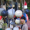 Babe With The Buoys by Kym Backland